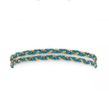 Bracelet chaîne tressée