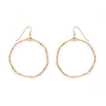 Boucles d'oreilles anneaux Pompéi