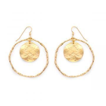 Boucles d'oreilles Pompéi x Maya