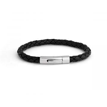 Bracelet Cuir Torsadé