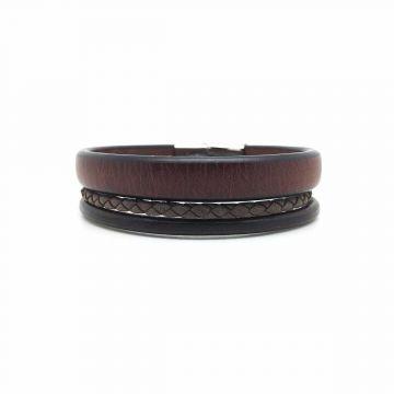 Bracelet Manchette Cuir Homme - Manchette pour homme| Atelier de Famille