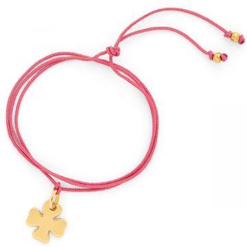Bracelet Maya simple mini breloque plaqué Or (gravure manuelle)